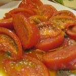 一番鳥 - トマトオリーブ炒め