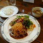 創作洋食屋 タムノス・樹 - ハンバーグ デミグラスソースランチ 950円
