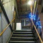 さっぽろジンギスカン - 階段を上ります。