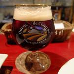 ベルギービール ベル・オーブ六本木 - Queue de charrue Brune (ヴェルハーゲ醸造所)