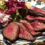 肉割烹バル 牛牛 GYUGYU - 近江牛ザブトンステーキ