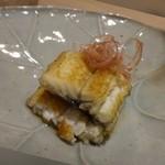 53554526 - ◆筑後川の天然鰻、うざく仕立て。                       鰻が美味しい季節ですから、脂がのっています。