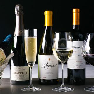 シニアソムリエ厳選のワイン250種ストック