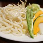 アサヒビール園 羊々亭 - 〆と野菜