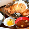 いし河 - 料理写真:ロースかつ定食
