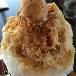 53564192 - 氷わらび きな粉ミルクアイス
