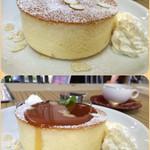 一日楽 - 料理写真:厚焼きホットケーキ