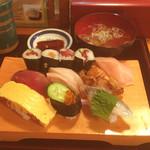 千登世寿司 - にぎりランチ