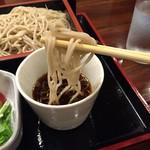蕎麦処 朝日屋 - カツ丼セット995円のもり蕎麦リフトアップ