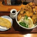 野らぼー - 鶏天おろしうどん 820円