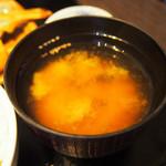 ワンガーデン - 味噌汁