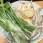 鍋専門店 籠菜 - 野菜各種1