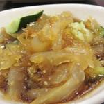 中国料理・熊猫食堂 - クラゲの和え物。