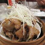 中国料理・熊猫食堂 - スペアリブの蒸し物。