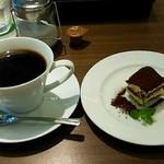 53576367 - コーヒー&ティラミス