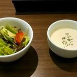 53576380 - サラダ&スープ