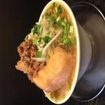 つけめん舎 一輝 - 台湾鶏二郎!ガッツリ好きな人にお勧めです!