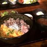 日本橋 ぼんぼり - 炭火焼親子丼