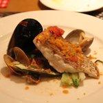 5358548 - コースの魚料理(鯛のポワレ)
