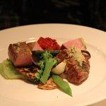 5358550 - コースの豚料理(霧島ポーク)