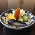 53580332 - 160715 鰻蒲焼定食(おしんこ)