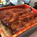 53580346 - 160715 鰻蒲焼定食(鰻重)