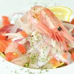 肉×魚×日本酒 照 - 『鮮魚の佳るパっチョ盛り合わせ』