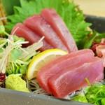 肉×魚×日本酒 照 - 『マグロの刺身』