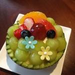 スールポッシュ - 料理写真:プリン・ア・ラモードDX