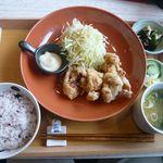 キッチン花吉 - 料理写真:チキン竜田揚げ定食(¥780)