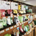 和束茶カフェ - 和束茶カフェ店内(2016.6月)