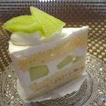 ケーキ ショップ グッド - 料理写真:メロンショート