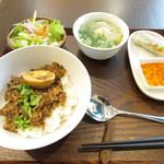 神戸アジアン食堂バル SALA - ルーローファンランチ