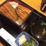 53588771 - うな重                       竹 3750円を                       平日割引で3550円                       美味しい〜(^^)