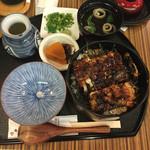 ひつまぶし 稲生 エスカ店 - ひつまぶし(ご飯大盛り)¥2,360-