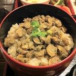 小松家 - 御膳に付いてるしじみ飯