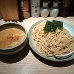 53590011 - 201607  百式  ★渡り蟹のつけ麺(大盛無料・880円)★