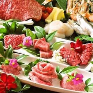 お得な肉盛コース5500円