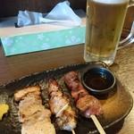 覇王樹 - 料理写真:ちょい飲みセット 980円(税抜き)