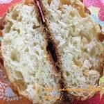 パン コリス - レモンピールのメロンパン