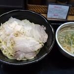 らーめん製作所 奏 - 鶏つけ麺 大