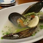 海鮮料理 海おやじ - 瀬戸貝の酒蒸し
