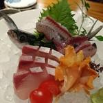 海鮮料理 海おやじ - 三種盛り