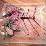 Shisui deux - エゾ鹿のグリルとクレソンの焼きサラダ 1,580円