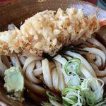 す奈は - 天ころ830円 わさびたっぷり、黄身は衣太りの天ぷらに隠れています