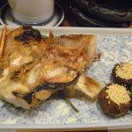 つり舟割烹 三河屋 - メヌケの塩焼き