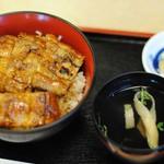 うなぎ おがわ - 鰻丼(上)1