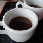 カフェ えどもんず - (2016/5月)王様ブルーマウンテン100%珈琲(ホット)(1,500円)