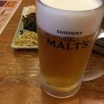 霧島 - 生ビール280円
