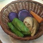 53618849 - 旬の蒸し野菜